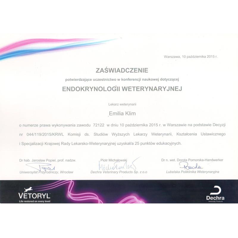 endokrynologia weterynaryjna